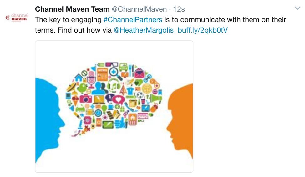 Channel Maven Tweet